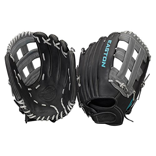 イーストンCore Fastpitchシリーズcorefp1300bkgy 13 in Outfieldパターン B01J2GBI6W Left Hand Throw