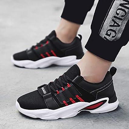 f97f0666b4443 Amazon.com: NANXIEHO Leisure Flying Weaving Shoes Men's Shoes Trend ...