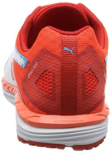 2 Ignite 300 Outdoor Red Peach Nrgy Fitnessschuhe Puma poppy white Damen Orange Speed OFZqxUBI