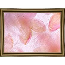 "Frame USA Flores Congeladas 639 Framed Print 18.0""x25.5"" by Moises Levy-MOILEV126314, 18x25.5, Bistro Gold"