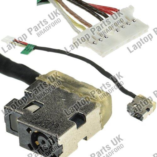 HP 14-AC, 14-AC000, 14-AC100, 14-AM, 14-AM000, 14-AM100, 14-AN000, 14-AQ, 14-AQ000, 14-AR, 14-AR000, 14-AR100, 14-AS, 14-AS000, 15-AC, 15-AC000, 15-AC100, 15-AC600,15-AF, 15-AF000, 15-AF100 DC Power Jack, Prise de courant continu avec câ ble, Connect