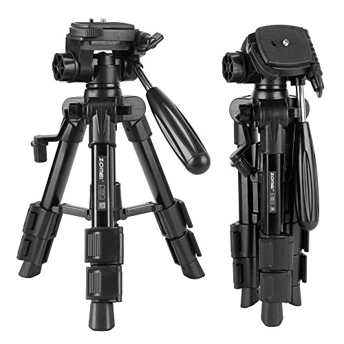 ZOMEI ZM-HR-Q100-Tripod-01 Mini Travel Tabletop Tripod with
