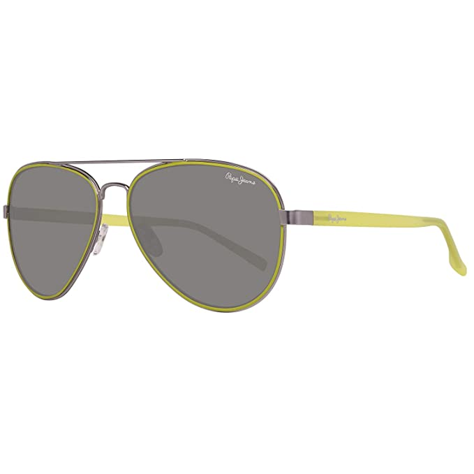 Pepe Jeans PJ5123C659 Gafas de sol, Silver, 59 para Hombre ...