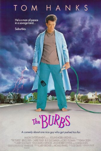 The Burbs 27 x 40 Movie Poster - Style A