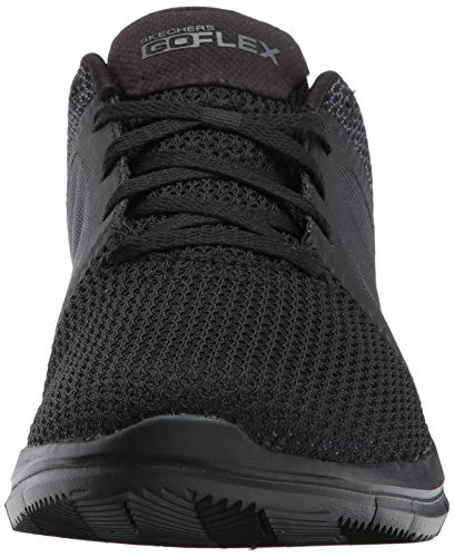 Skechers Men's Go Flex 2-54014 Sneaker Black/Gray clearance for sale store cheap sale best store to get Manchester for sale Vxy5uM