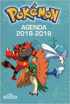 Pokémon - Agenda 2018-2019