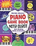 #8: Meridee Winters Note Quest (Piano Game Book): Note Reading Drills and Activities (Meridee Winters Game Book Series)