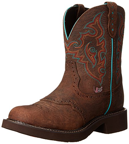 "Justin Boots Women's Gypsy Collection 8"" Soft Toe,Barnwood B"