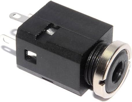 10 StüCk 3-Polig LöTen 2,1 Mm X 5,5 Mm Buchse Power Jack DC-Buchse B8N8