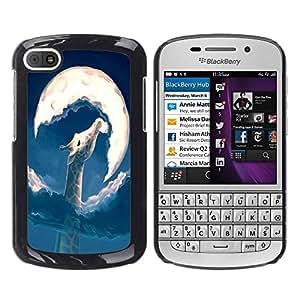 Dragon Case - FOR BlackBerry Q10 - you shouldn't let her go - Caja protectora de pl??stico duro de la cubierta Dise?¡Ào Slim Fit