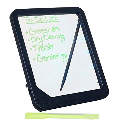 Glowing LED Backlit Message Board - Includes Hi-Lighter! by TMG