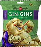 THE GINGER PEOPLE Gin Gins Original Chewy Ginger Candy, 60g