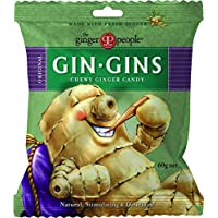 The Ginger People Gin Gins Ginger Candy Bag Chewy - Original, 60 g