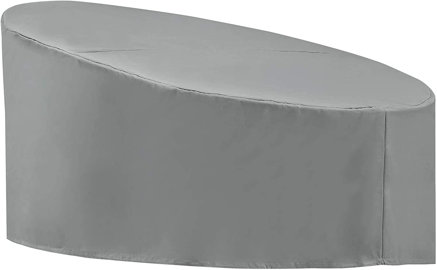 Modway EEI-3132-GRY Immerse Siesta and Convene Canopy Daybed, Cover, Gray