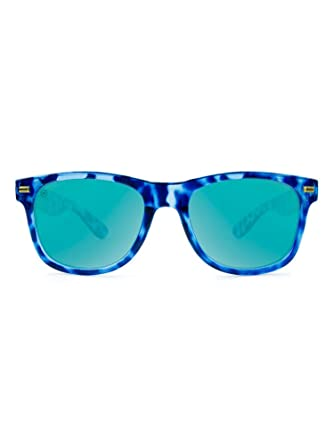 Knockaround Fort Knocks 2.0 Polarized Sunglasses Glossy Blue Tortoise Shell, Aqua: Amazon.es: Ropa y accesorios