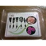 Aguja Gubia para decorar gelatina (clavel)