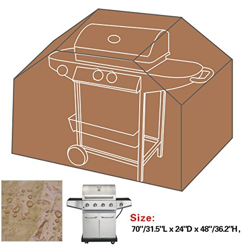 BenefitUSA Gas Grill Barbeque Cover BBQ Protector Outdoor Cart 70