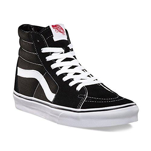 Black Sk8 White Vans Sneakers Alti Hi Black Adulto Unisex f7wZ0w