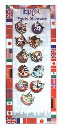Disney Pin - WDW - Epcot World Showcase Pin Set - 74071