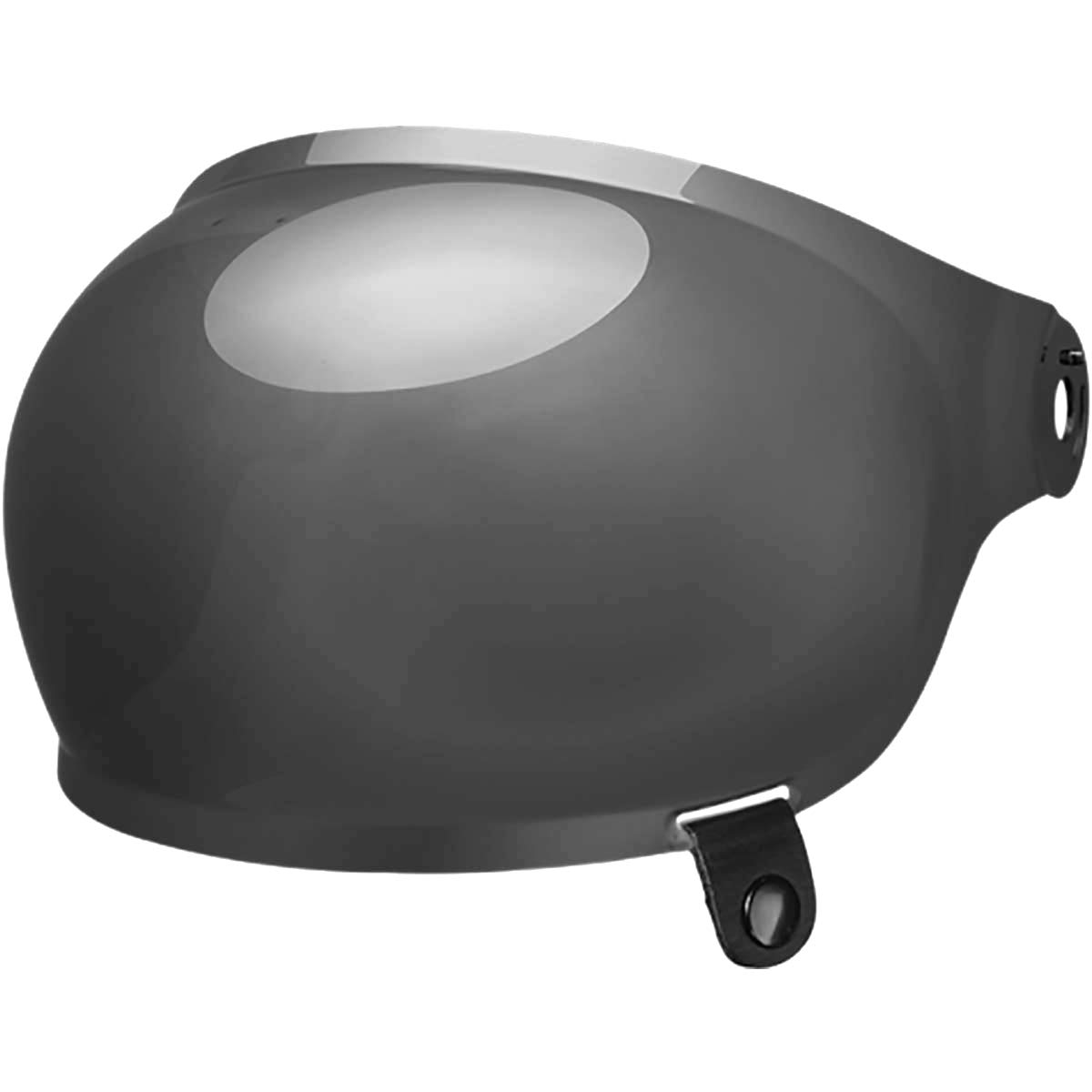 Brown Tab One Size B013382 Dark Smoke Bell Bullitt Bubble Shield Visor Street Motorcycle Helmet Accessories