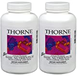 Basic Nutrients IV (With Copper and Iron) - Thorne Research - 180 Vegetarian Capsules (Pack of 2)