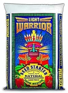 FoxFarm FX14023 Light Warrior Seed Starter Soilless Mix, 1-Cubic Feet (not av...