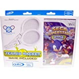 Cheap Sega SuperStars Tennis Plus 2 Custom Designed Tennis Rackets Bundle ( Controller Not Included)