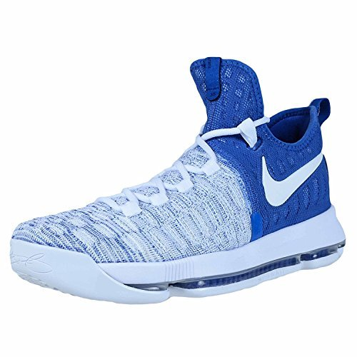 Nike Zoom KD 9 Mens Basketball Shoes (10, University Red/White-Black)