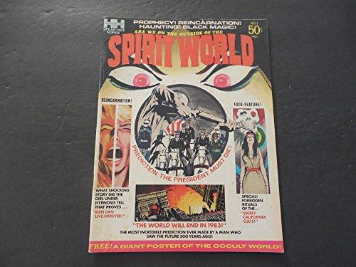 Spirit World #1 Fall 1971 Bronze Age BW Magazine Jack Kirby (Kirby Spirit World Jack)