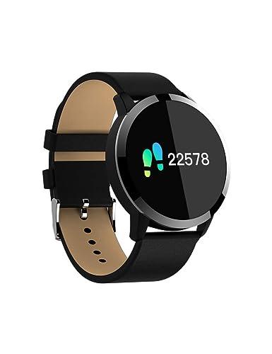 DZKQ Orologio Intelligente Orologio Schermo A Colori Impermeabile In Acciaio INOX Dispositivo Indossabile Smartwatch Orologio Da Polso Donne Degli Uomini ...