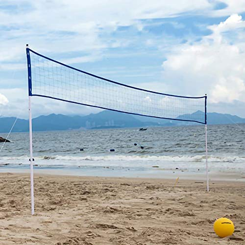 2TRIDENTS Outdoor Beach Volleyball Net Set - Great for Yard Games, Family Cookouts, Summer Camps, and Social Events