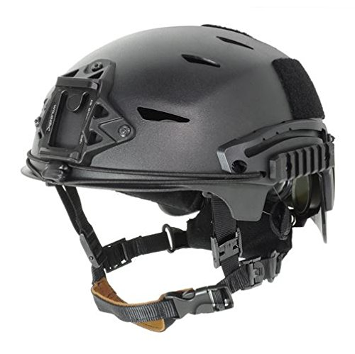 AIRSOFT BUMP TYPE HELMET BLACK ABS MARSOC USSF OPS CORE by FMA