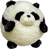 Squishable Panda Plush, Black and White, Mini 7""