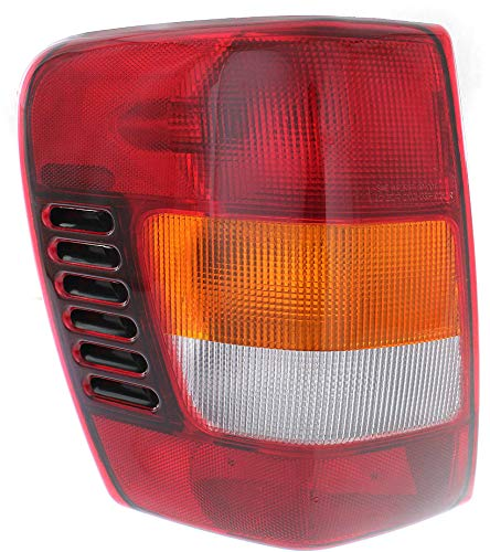 Tail Light Compatible with JEEP GRAND CHEROKEE 2002-2004 LH Assembly From 11-2001