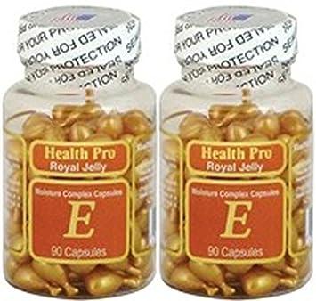 Facial oil capsules