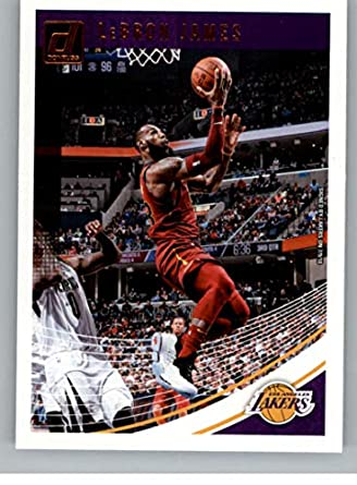 new style f5c8c 0c906 Amazon.com: 2018-19 Donruss #94 LeBron James Los Angeles ...