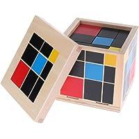 FLAWISH Set of Trinomial Cube Kids Children Learning Algebra & Maths Educational Toy