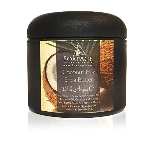 Soapage Coconut Milk Raw Shea Body Butter