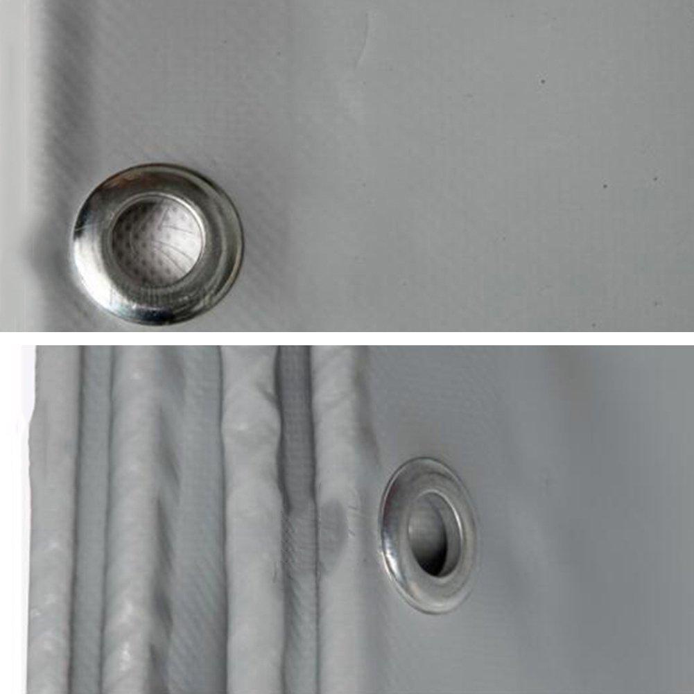 AJZGF Regenschutz Wasserdicht Plane, Verdickte Verdickte Plane, staubdichte windundurchlässige imprägniernde Sonnenschutz-Hochtemperatur-Oxidationsbeständiges Grau der LKW-Plane (Farbe   Gray, größe   4x4M) e7851f