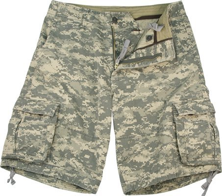 Acu Digital Camo Short (Rothco Men's Vintage Acu Digital Infantry Utility Shorts (Medium/Digital Camo))