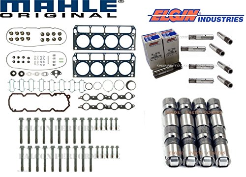 Chevy Engine Vin - Chevy 5.3 LS-4 VIN-C Cylinder Head Gasket Set+Bolts+AFM Lifters Kit 2005-09