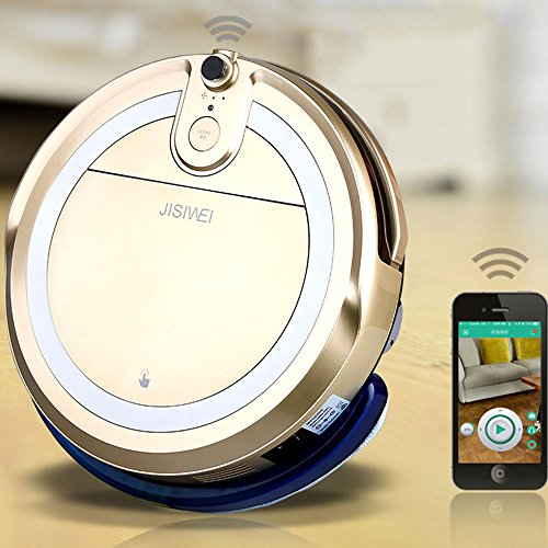 Cleaner Smart Robot Vacuum Cleaning Floor Auto Dust Microfiber Robotic Sweeper Mop Automatic by Alek...Shop