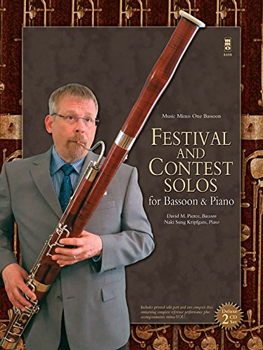 Bassoon Book Music 1 (Festival and Contest Solos: for Bassoon & Piano (Music Minus One Basson))