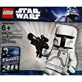 LEGO Star Wars White Boba Fett Minifigure -SEALED- 30th Anniversary Limited Edition (McQuarrie Concept) Rare (Consists of only 5 peices) by LEGO