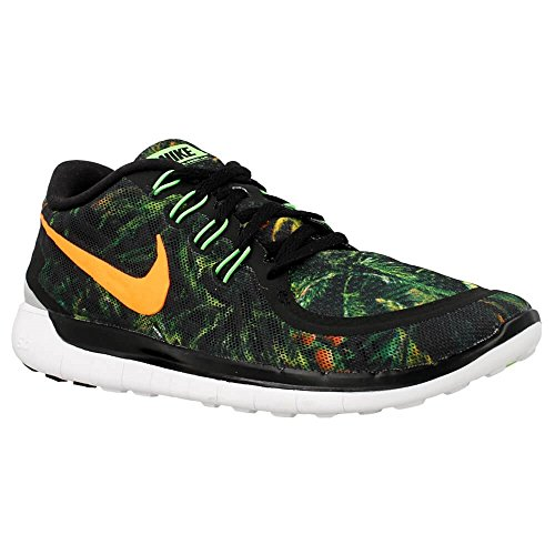 Nike - Wmns Free 50 Solst - 806588003 - Couleur: Noir-Orange-Vert - Pointure: 37.5 vJd1Fb