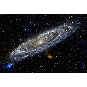 NASA Andromeda Galaxy Space Hi Gloss Poster
