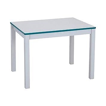 Rainbow Rectangular Activity Table Table Size: 20u0026quot; H, Side Finish:  Orange