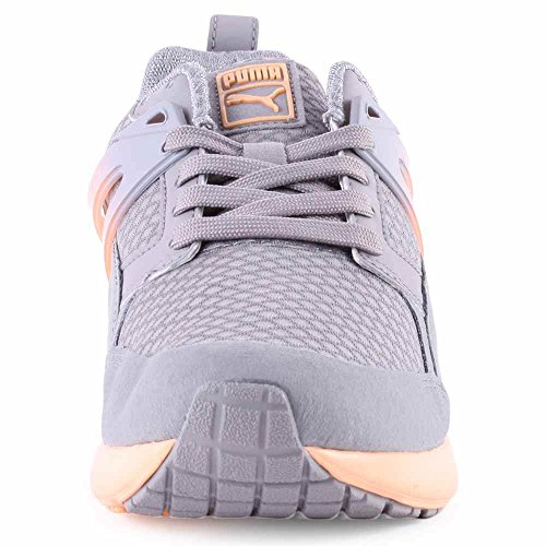 Puma Arial Clear Womens Textile Trainers Grey - 39 EU