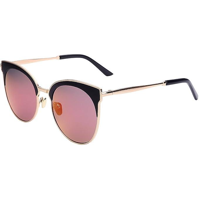 Gafas de sol/Verano más del cuadro redondo tonos/Gafas de ...