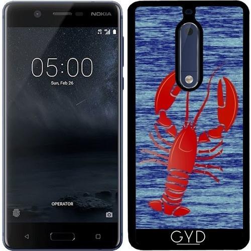 Funda de silicona para Nokia 5 - Langosta by hera56
